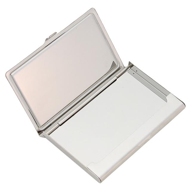 名刺入れ カードケース ステンレス 金属 スタイリッシュ 薄い 軽量