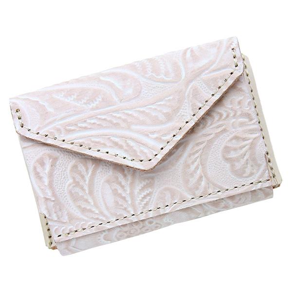 ミニ財布 小さい財布 ミニウォレット コンパクト ミニマリスト ミニマル 白