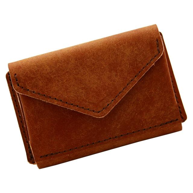 ミニ財布 小さい財布 ミニウォレット コンパクト ミニマリスト ミニマル キャメル