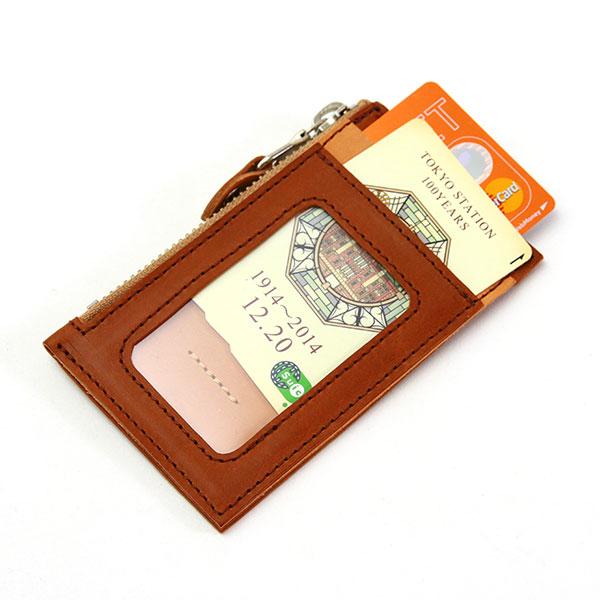 パスケース 定期入れ コインケース 小銭入れ 日本製 牛革