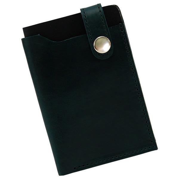 パスケース シンプル レザー 本革 牛革 日本製