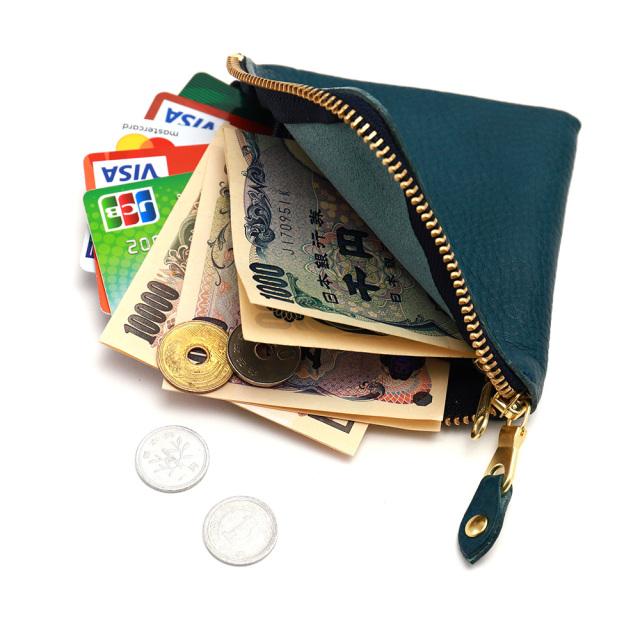 折財布 コインケース カードケース 札入れ コンパクト レザー 本革 牛革