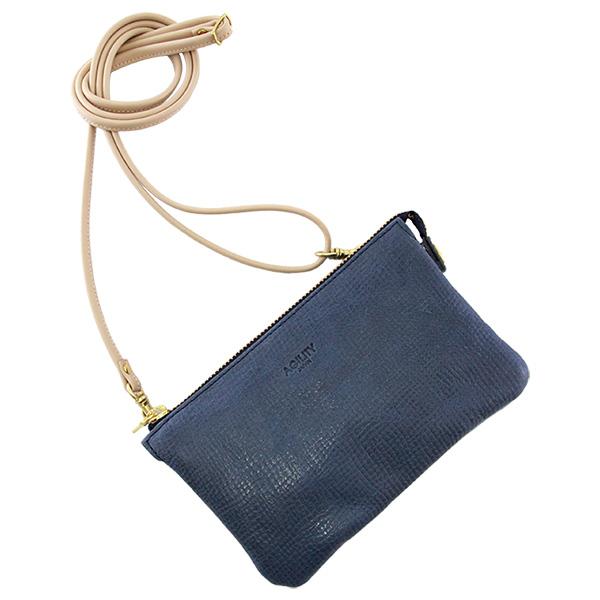 お財布バッグ ウォレットバッグ レザー 山羊革 日本製 レディース