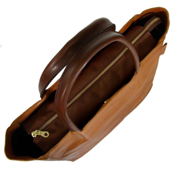 馬革 軽量 トートバッグ