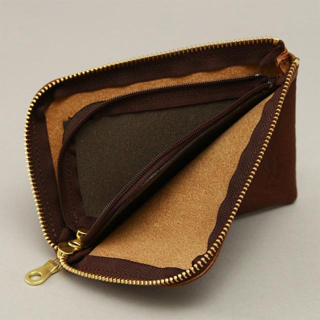 スマホ 財布 長財布 メンズ L字ファスナー レザー 牛革 スマホが入る財布