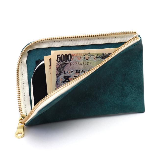 スマホ 財布 L字ファスナー 牛革 スマホが入る ミニ財布 コンパクトウォレット