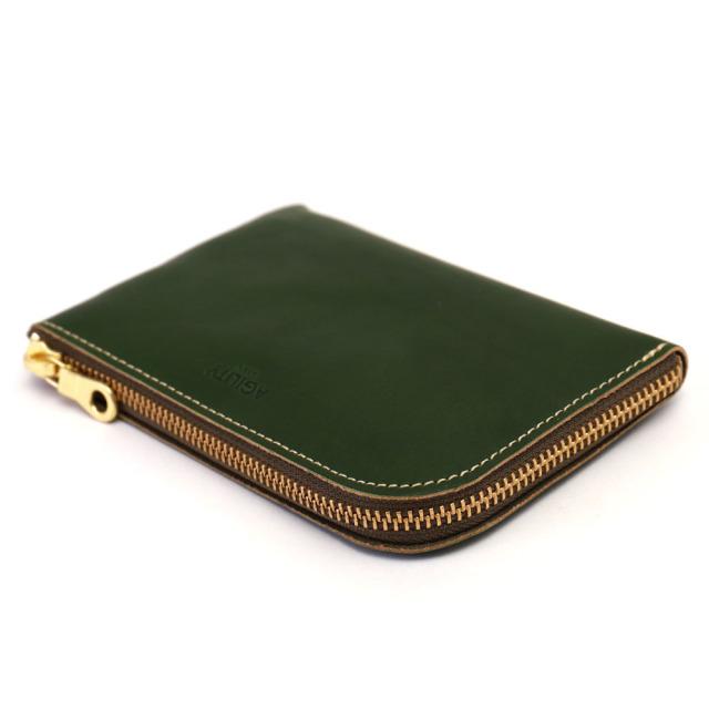 スマホ 財布 L字ファスナー 牛革 スマホが入る ミニ財布 コンパクト 小さい