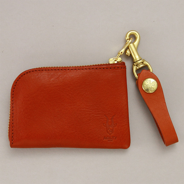 コインケース カードケース コンパクト ウォレット 小型 財布 パース ストラップ付き