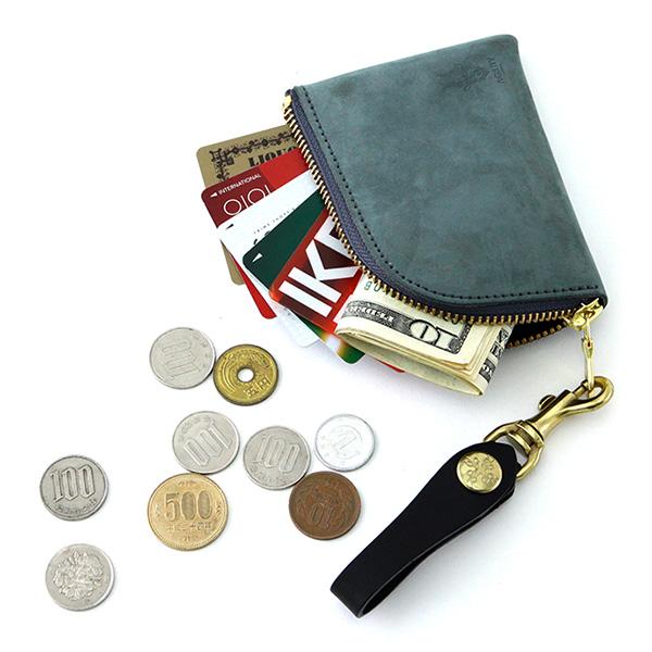 コインケース カードケース アルジャン 牛革 小銭入れ 日本製