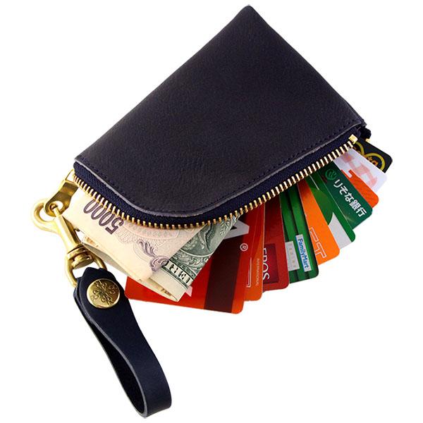 コインケース 小銭入れ カードケース アルジャン オイルシュリンク 姫路レザー 日本製