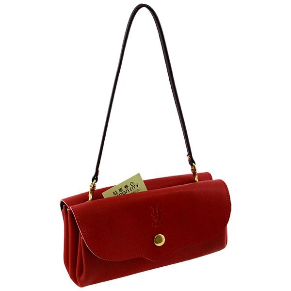お財布バッグ お財布ショルダー ウォレットバッグ 本革 レザー 日本製