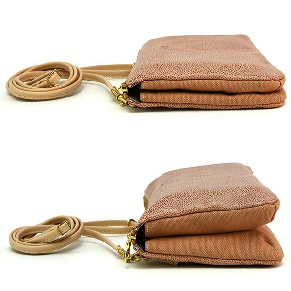 ショルダーバッグ ミニショルダー クラッチバッグ バッグインバッグ 日本製