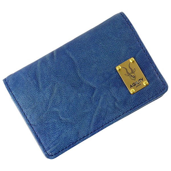 日本製 羊革 名刺入れ カードケース