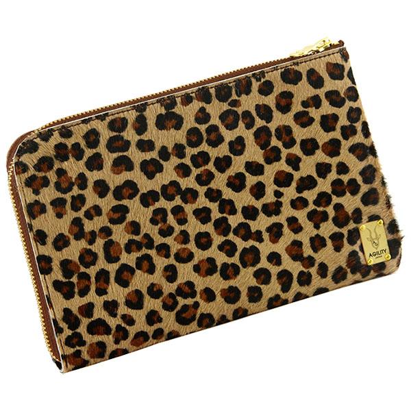 日本製 ハラコ お財布バッグ 長財布 マルチウォレット