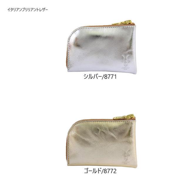 コインケース 小銭入れ カードケース カスタムアルジャン イタリアンブリリアントレザー 日本製