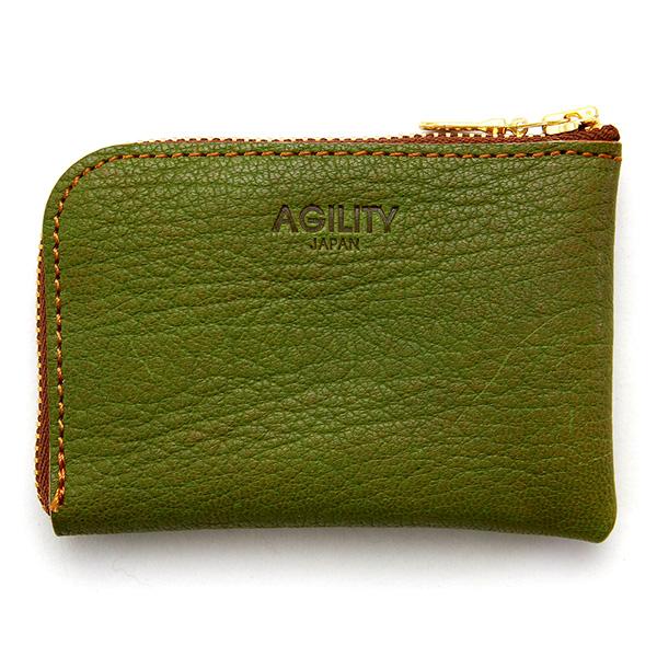 財布 極小財布 コインケース 小銭入れ カードケース ミニ財布 コンパクト グリーン