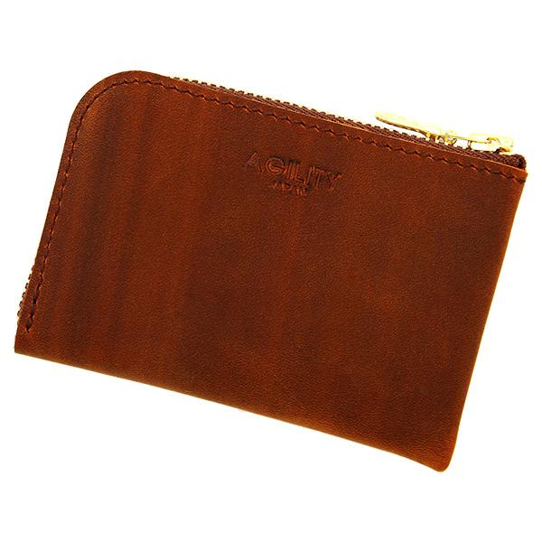 財布 極小財布 コインケース 小銭入れ ミニ財布 コンパクト キャメル