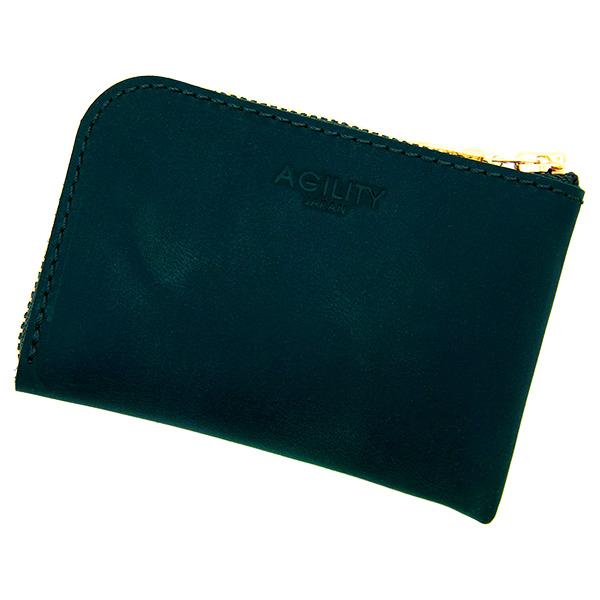 財布 極小財布 コインケース 小銭入れ ミニ財布 コンパクト グリーン