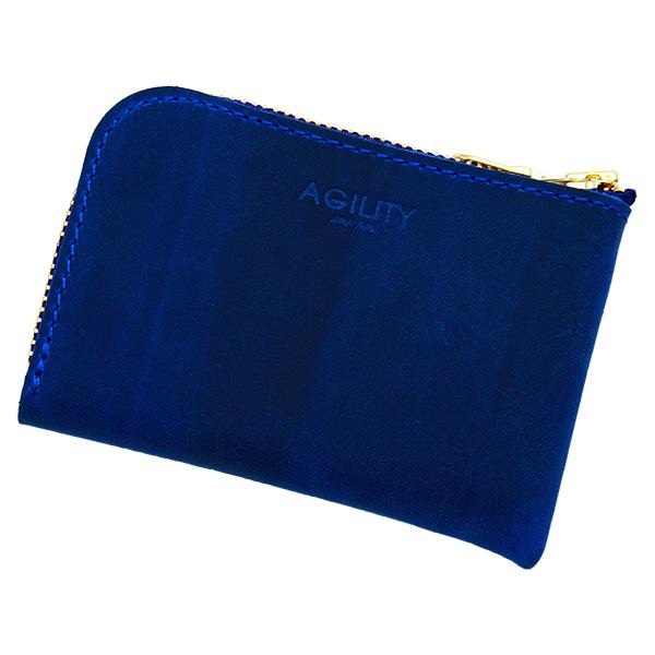 財布 極小財布 コインケース 小銭入れ ミニ財布 コンパクト ブルー