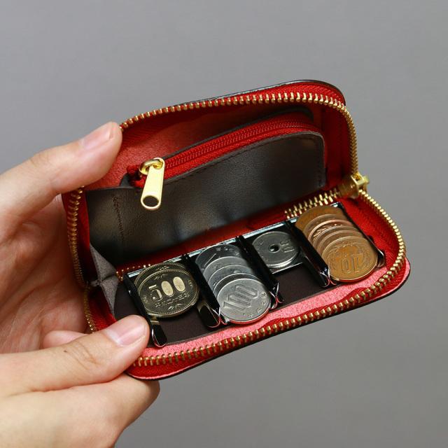 コインキャッチャー 財布 小銭入れ 本革 日本製