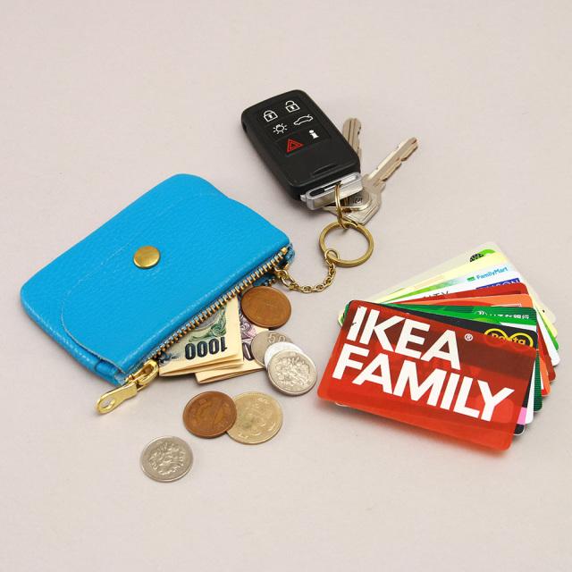 コインケース カードケース キーリング 本革