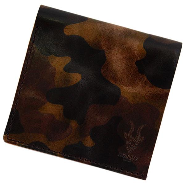 二つ折り財布 小銭入れ 札入れ コインケース 牛革 日本製