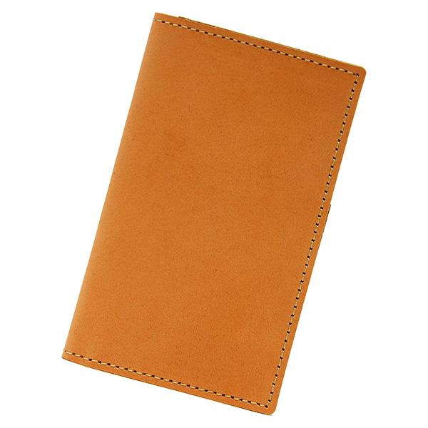 カードケース 本革 レザー 二つ折り 薄型 薄い 縦 スリム カード入れ ヌメ