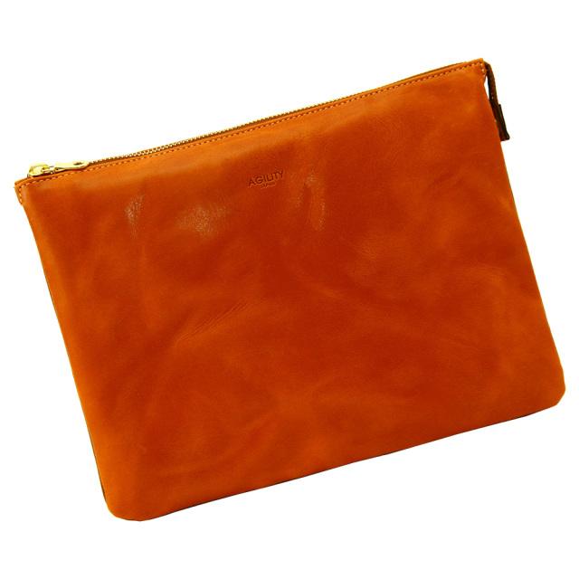 クラッチバッグ ipad 2way 本革 レザー 薄型 メンズ ショルダーバッグ ブラウン