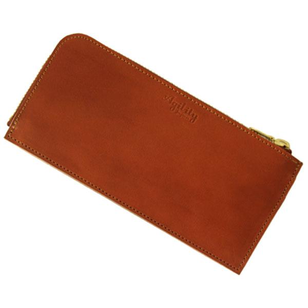 日本製 長財布 薄型 スリム L字ファスナー