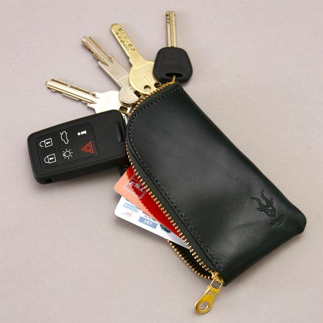 日本製 キーケース リモコンキー スマートキー カードキー 鍵 革 レザー