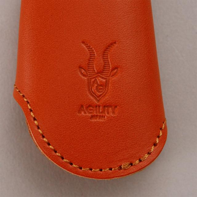 キーケース 靴ベラ シューホーン キーフック 真鍮 本革 一体型 レザー