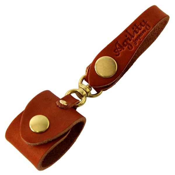 日本製 グローブホルダー 手袋 ゴルフ スカーフ ブラウン