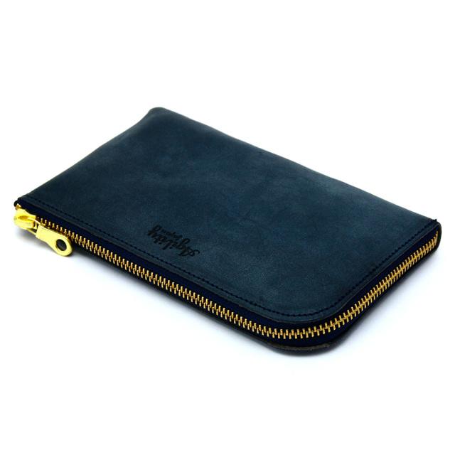 財布 ウォレット L字ファスナー パスポート スマートフォン パスポート ポシェット