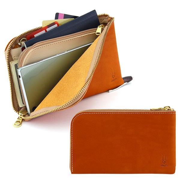 トラベルウォレット お財布バッグ ボヤージュ 日本製
