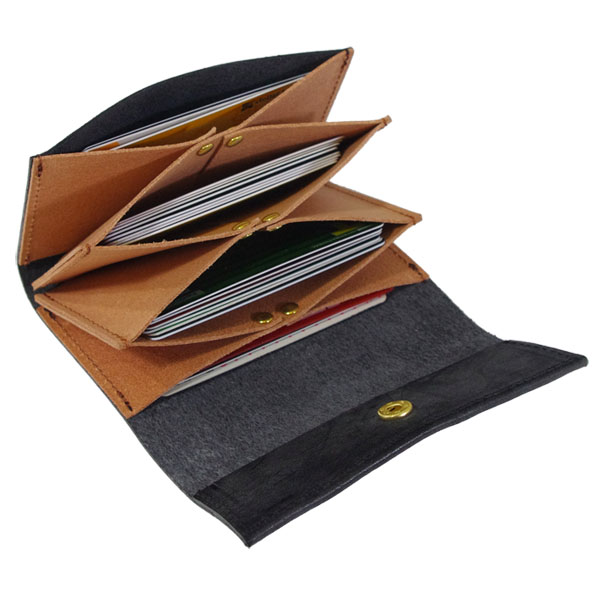 カードケース 本革 蛇腹構造 名刺入れ 日本製 牛革