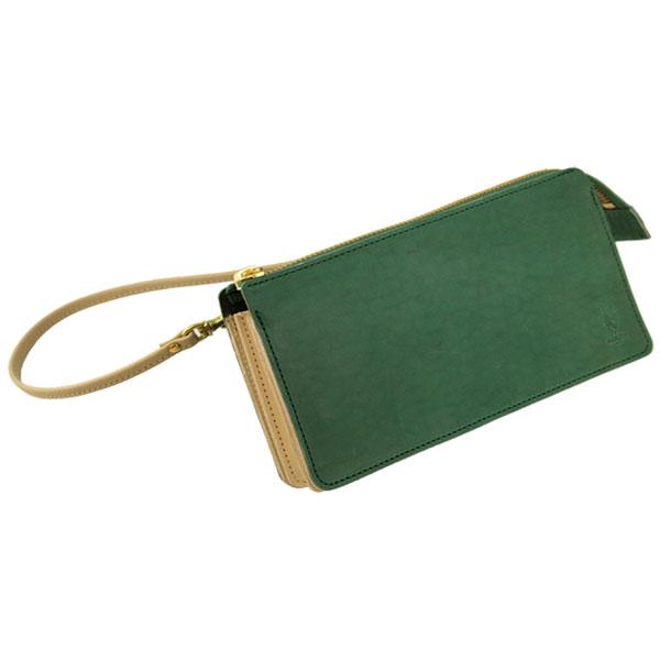 財布 牛革 長財布 スマホ スマートフォン iPhone ショルダーバッグ ポシェット 日本製