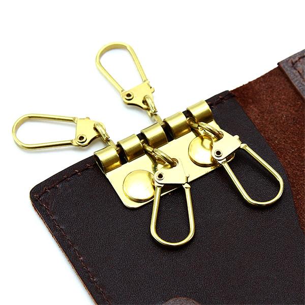 キーケース コインケース カードケース 極小財布 ミニ 小さい L字 革 本革