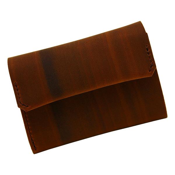 財布 折財布 極小財布 スマート 小さめ 薄い ミニ財布 コンパクト 本革 キャメル