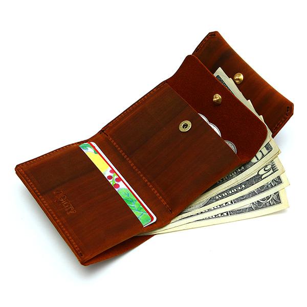 財布 折財布 極小財布 スマート 小さめ 薄い ミニ財布 コンパクト 本革