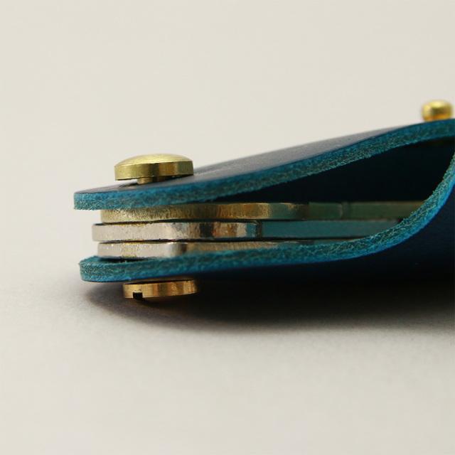 キーケース 革 レザー シンプル ナスカン 極小 小さい ミニ おしゃれ かわいい