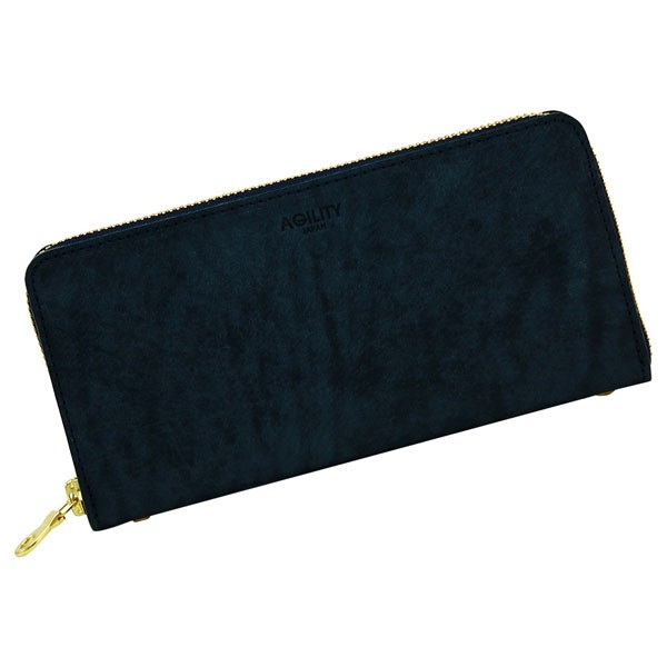 革 レザー 日本製 ウォレット 長財布 ブラック