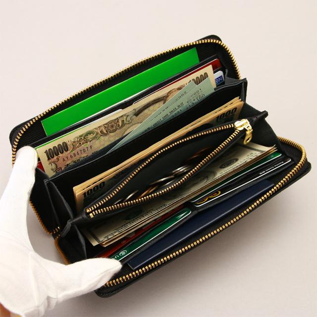 長財布 ロングウォレット 札入れ 小銭入れ ラウンドファスナー