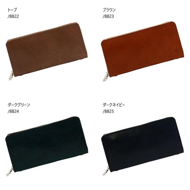 日本製 長財布 ラウンドファスナー