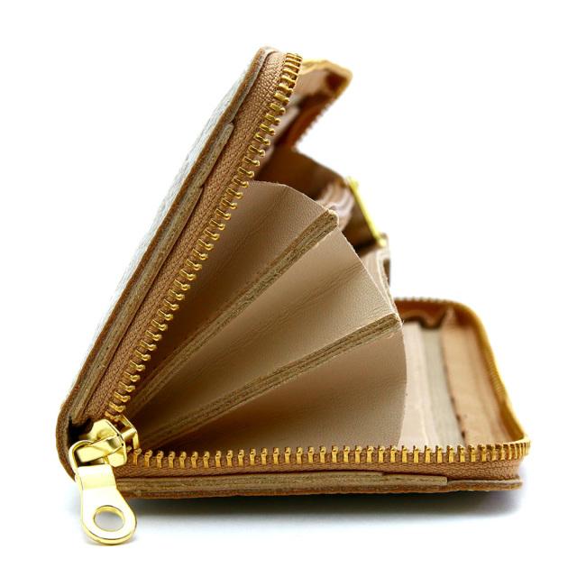 長財布 ラウンドファスナー 大容量 レディース 星柄 金 銀 ゴールド シルバー