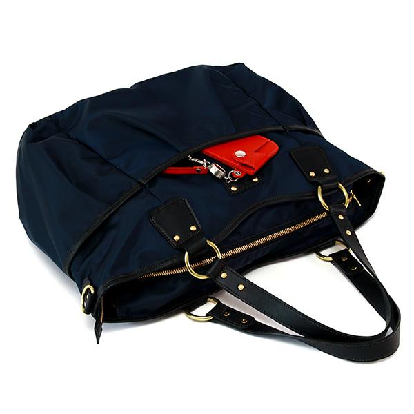 日本製 レディース ナイロンバッグ トートバッグ 2way ショルダーバッグ 軽量 弱撥水 ママバッグ