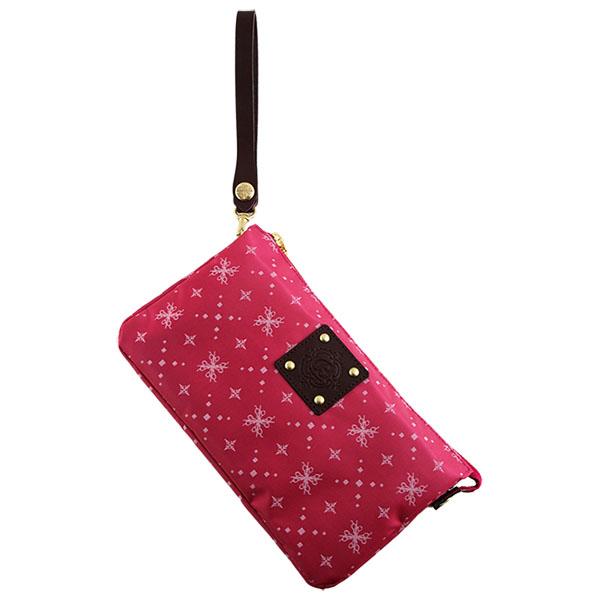 レディース クラッチバッグ 軽量 モノグラム バッグインバッグ ピンク