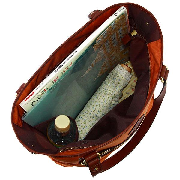 底鋲付きビジネス対応 A4 軽量ナイロン 2wayトートバッグ