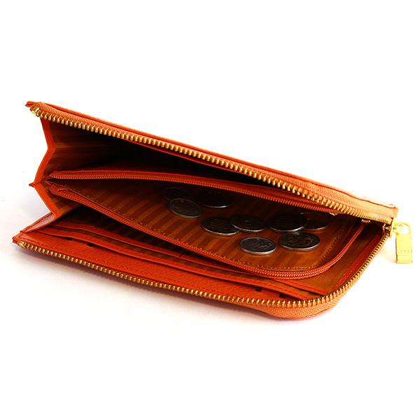 お財布ポシェット L字ファスナー スマホ 財布 レディース 旅行