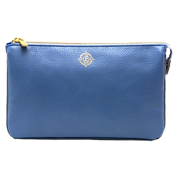 バッグ ショルダーバッグ 革 日本製 レザー レディース ブルー