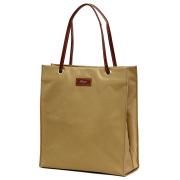 レディース ショッパー 紙袋 撥水 ナイロン B5 サブバッグ トートバッグ ベージュ